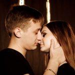 couple in addictive relationship dark