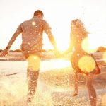 Sun Happy Couple Relationship Coach